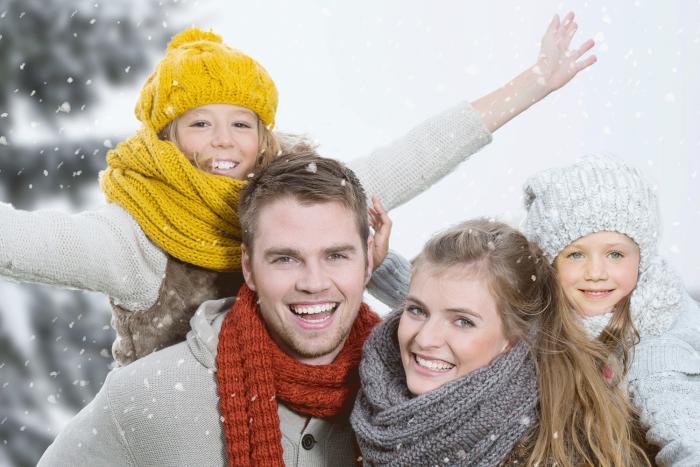 famille ski activités