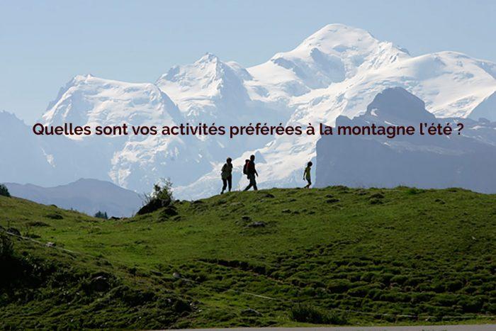 activités montagne été