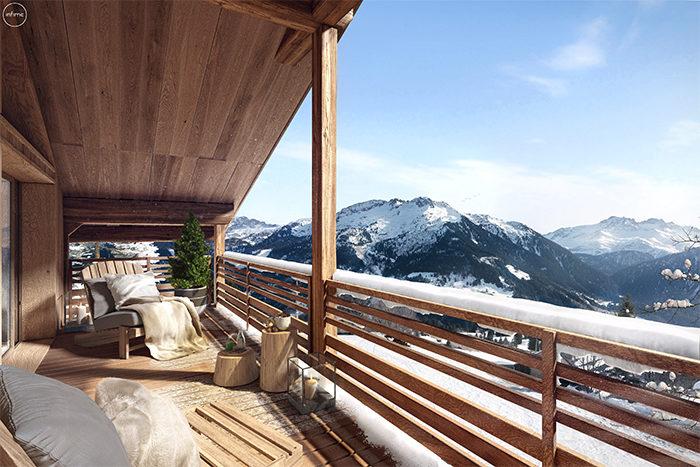 Perspective Terrasse programme l'Altarena